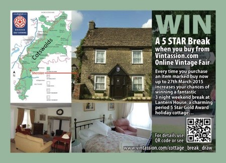Chance To Win a 5 Star Break When You Vintage & Retro
