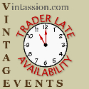Vintage Trader Stall Availability
