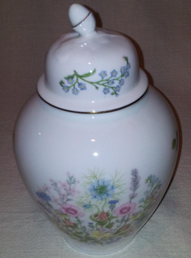 aynsley wild tudor fine bone china urn