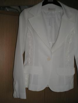 skirt suit jacket front
