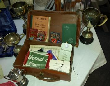 1950s Collection of Cycling Memorabilia