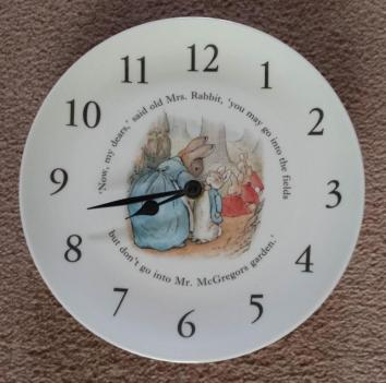 Wedgwood Peter Rabbit Clock