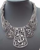 Marcasite and Diamante Necklace.