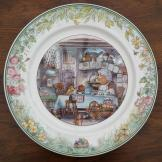 Rare Villeroy & Boch Foxwood Tales Plate