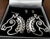 Robert Welch Sterling Silver Earrings