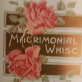 Matrimonial Whist game card/pencil unused