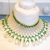 Vintage beaded large collar/choker