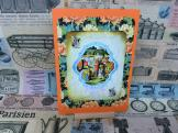 Vintage style Alice in Wonderland card (V042)
