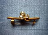 Sweet Twig Stock-Pin Brooch