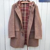 Paddington grandad duffle coat vintage
