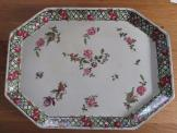 Henry Alcock platter with roses