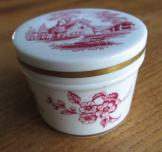 Spode trinket box with lid