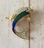 Vintage Atwood and Sawyer Dolphin Brooch