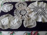 7 Piece Bundle Assorted Doilies