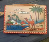 1950s Embossed Handcoloured Egyptian Bag