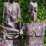 1950s Beautiful Cotton Jacket & Dress
