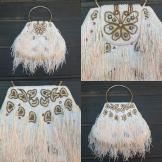 Great Gatsby Inspired Beaded Bag 1980s