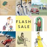 *Flash Sale* 8 designs of Greetings cards