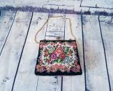 1930s Vintage Petit Point Tapestry Evening Bag