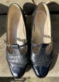 Black vintage Mary Jane shoes