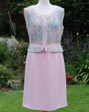 1960s vintage dress by 'Heros' Salon Gerty