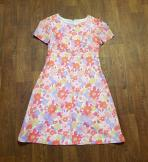 1960s Vintage Shift Dress UK Size 16