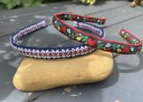 Handcrafted vintage braid Alice band