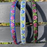 Alice/ hair bands handcrafted from vintage ribbon