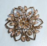 Floral Vintage Brooch by Sarah Coventry Peta Lure