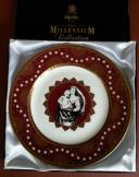 Spode Crimson 'Nativity' Millennium Plate Ltd Ed